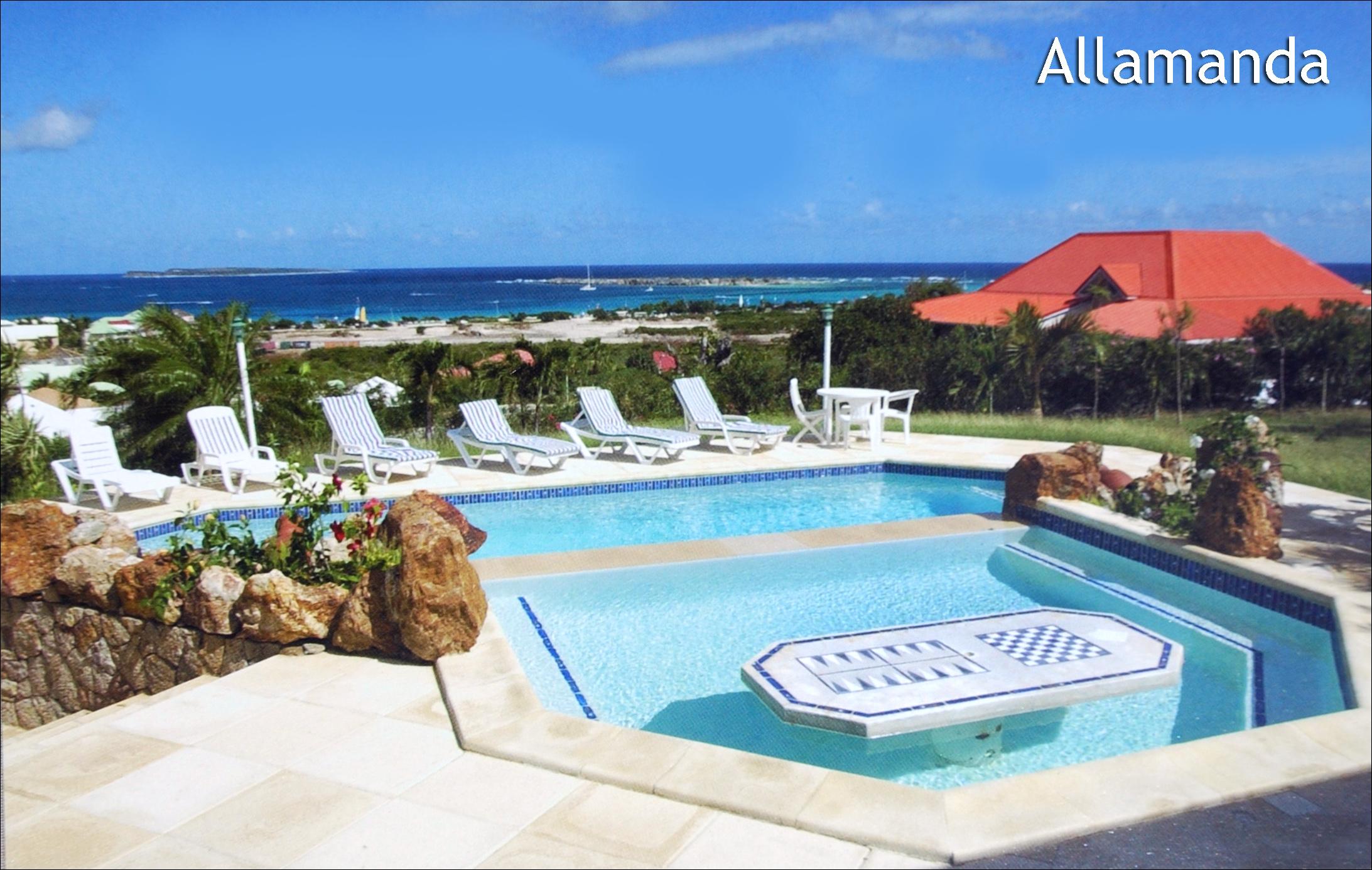 Villa Orient Bay Rental ISM Immobilire Saint Martinoise
