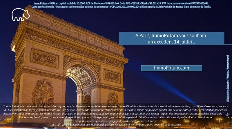 ImmoPotam-14-juillet-Paris-Etoile-Arc-de-Triomphe-Seine-75-Ile-de-France-immobilier-logement-appartement-maison-patrimoine-ancien-neuf-vefa-1p-2p-3p-4p-5p-6p-banque-courtier-pret-ptz