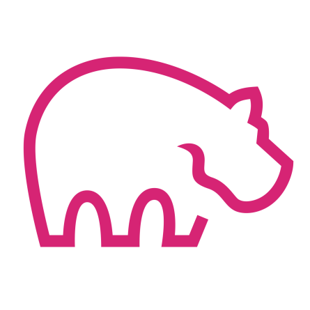 Logo ImmoPotam simple - 1500x1500px - plat - rose-Curie-transparent
