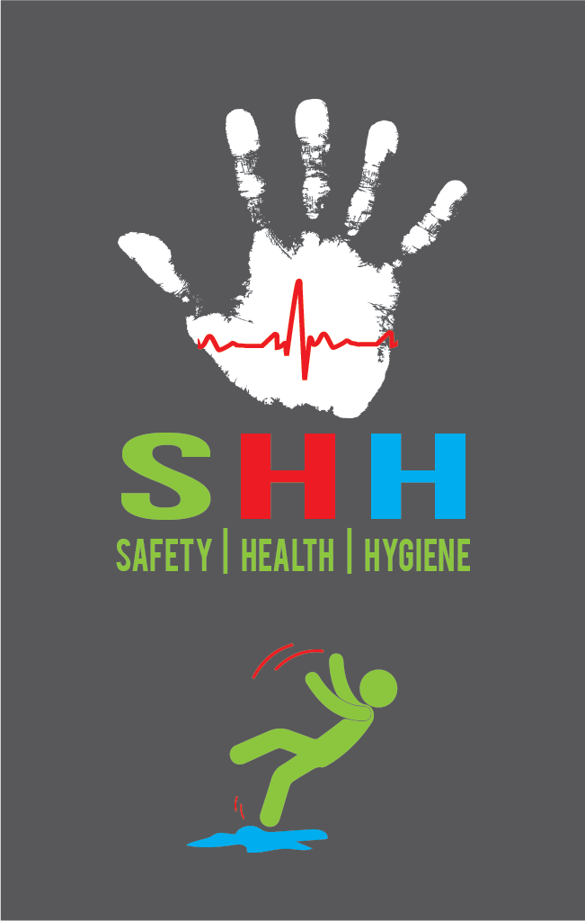 SHH - safety health and hygiene logo & cards