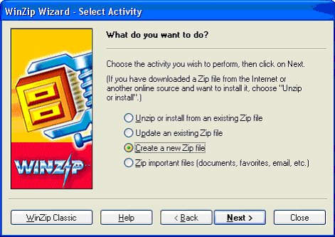 To Zip or Unzip, That is the Question