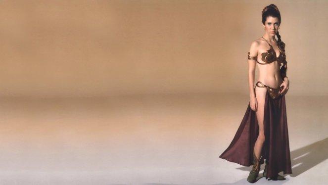 Princess Leia in Slave Uniform