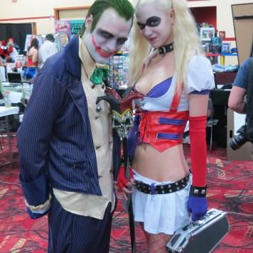 Amazing Las Vegas Comic Con Cosplayer Joker Harley