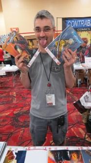a fan of comic books