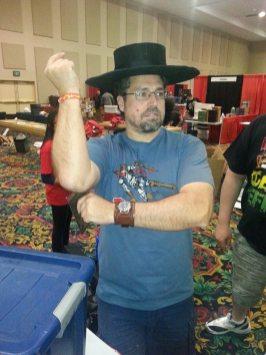 Las Vegas Comic Expo 2013 Avenger Red
