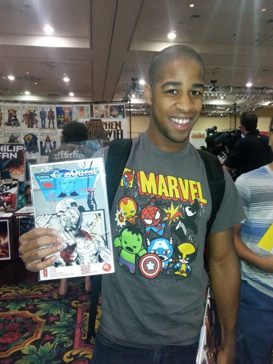 Las Vegas Comic Expo 2013 Immortal Samurai Comics Conquest 4.1