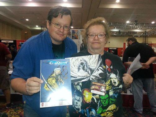 Las Vegas Expo 2013 Immortal Samurai Comics Conquest 1