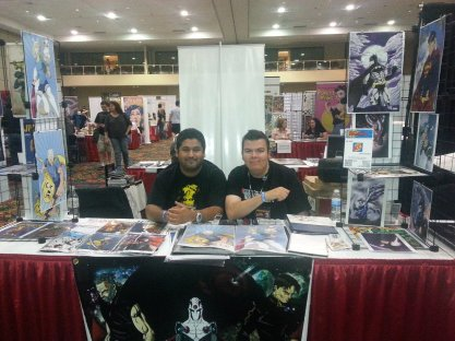 Las Vegas Expo 2013 James Stone and Vince Pizarro Immortal Samurai Comics Conquest