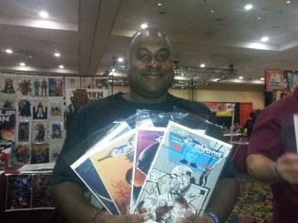 Las Vegas Expo Conquest set Immortal Samurai Comics