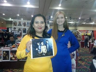 Las Vegas Expo Star Trek Immortal Samurai Comics