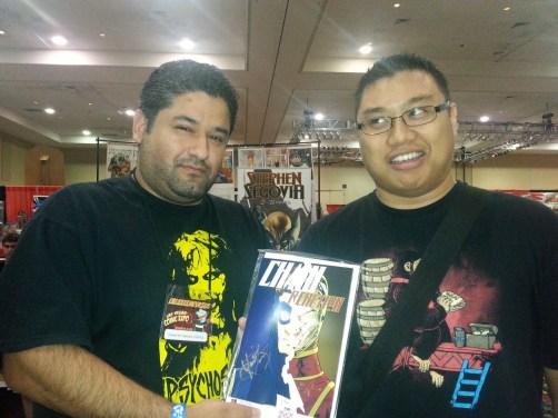 Las Vegas Expo Vince Pizarro Immortal Samurai Comics Chain Reaction
