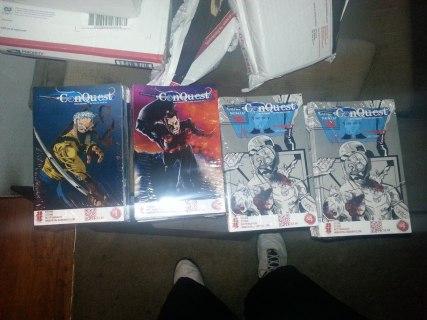 conquest new prints