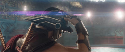 (this looks like a Tron helmet)