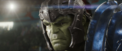 (Mark Ruffalo as the Incredible Hulk)