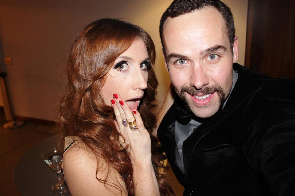 Jessi Cruickshank and Mr. Fab Calgary AB MTV  (2)