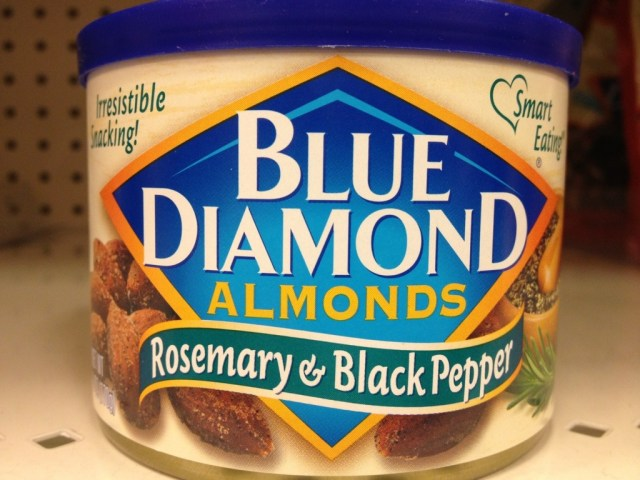 Rosemary & Black Pepper Almonds