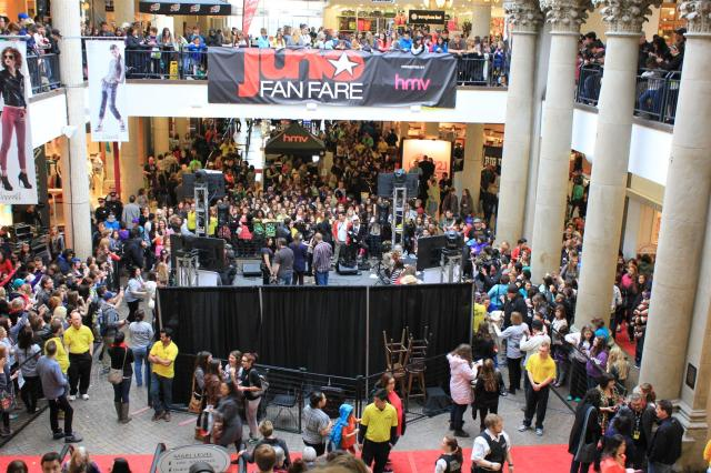 JUNO Fan Fare Regina SK 2013 Cornwall Cantre