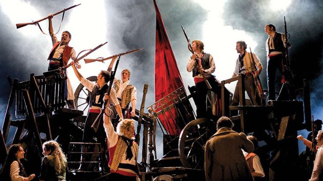 Les Mis Canadian TOuring Cast BAC Broadway