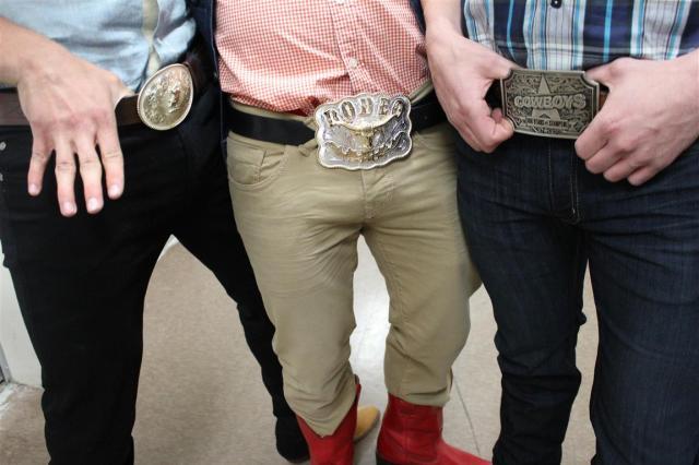 Stampede Cowboy Belt Buckles FAB (4)