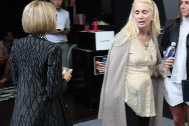 Anna Wintour Fashion Week NYC