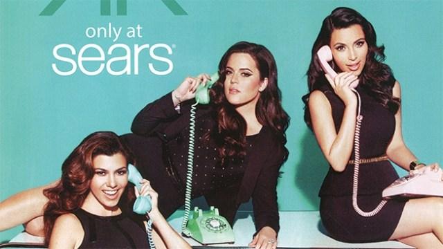 Sears ad for Kardashians