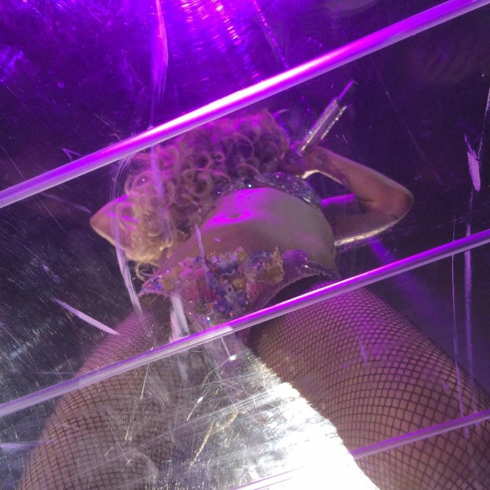 Lady Gaga Clear Catwalk Stage Edmonton