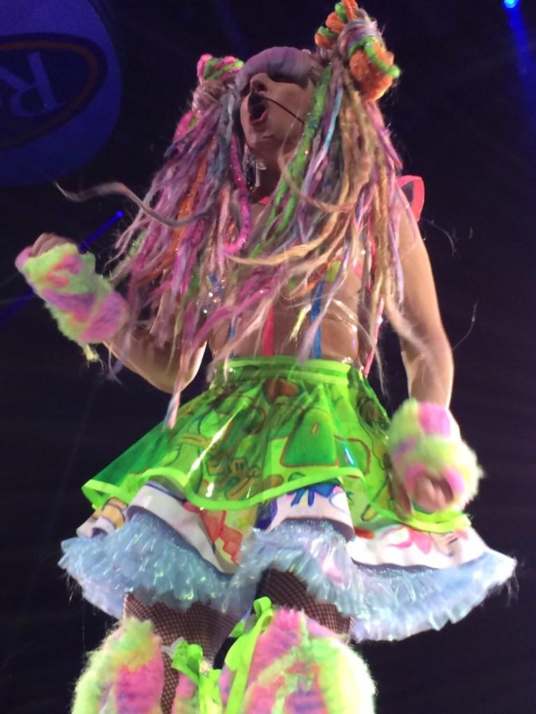 gaga lady gaga artrave stage final costume