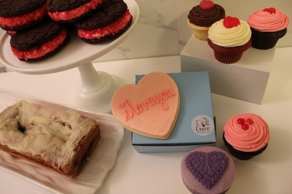 Crave Cupcakes Valentines Limited Edition Calgary
