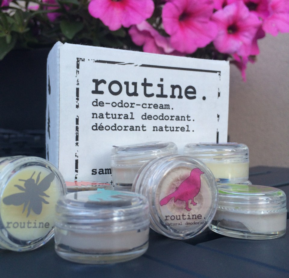 Routine Cream natural underarm deodorant
