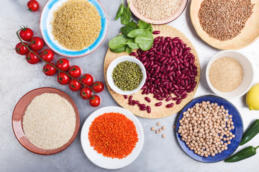 Various Types of Beans Featured
