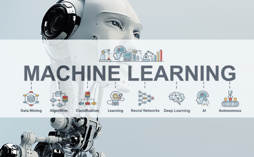 Learning the past, understanding the present and predicting the future: Machine learning (ML)