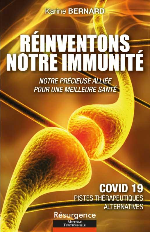 Livre Réinventons notre immunité