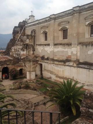Ruinas of Hermano Pedro gardens