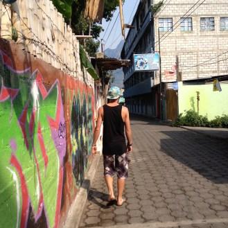 Street art around SPLL