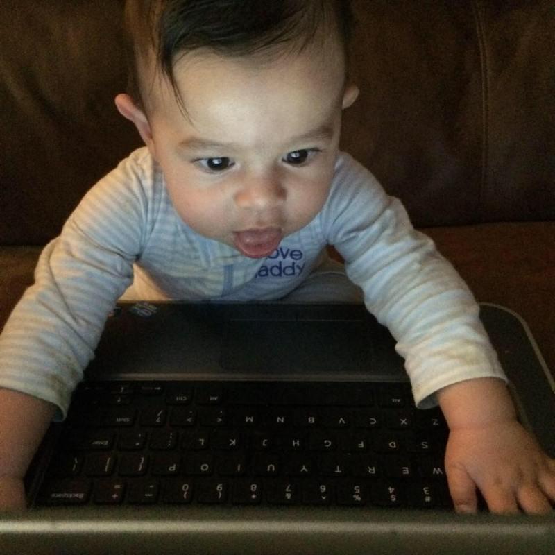 Social Media Baby