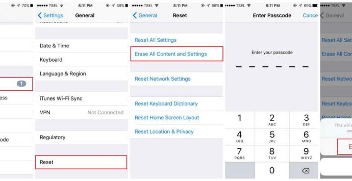 How to Fix iPhone Camera Won't Focus - Method 8