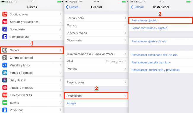 rror por la actualización de iOS 12 - iPhone repite el reinicio arbitrariamente
