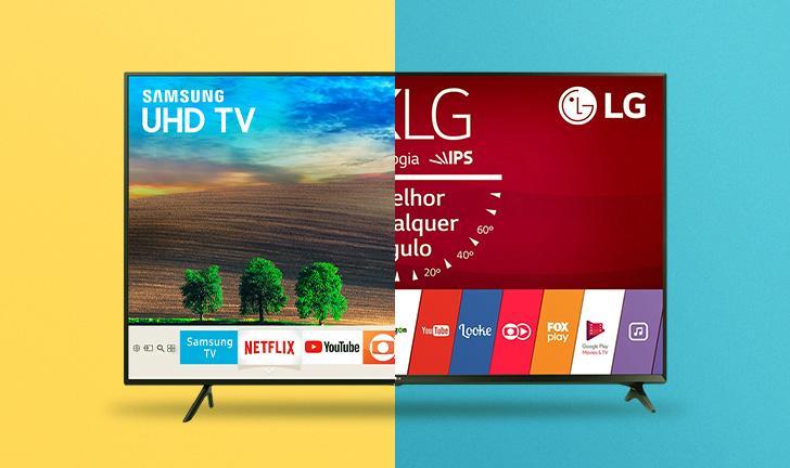 TV Samsung ou LG