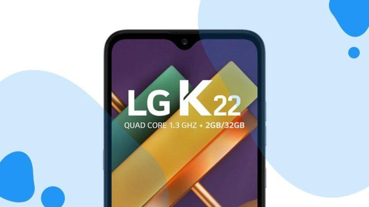 LG K22: Básico e barato