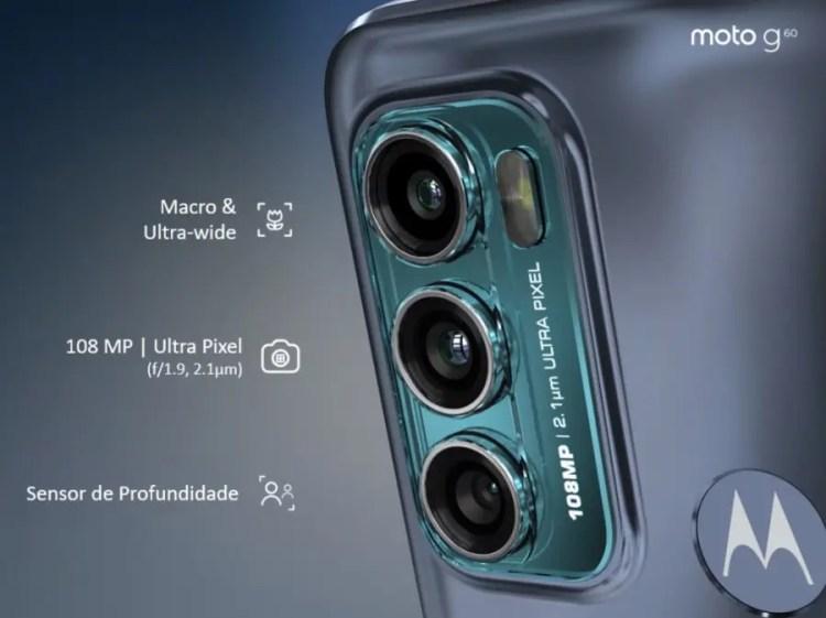 Tops celulares de 128gb para se comprar, moto g60