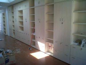 Estanterias Bibliotecas y Oficinas IMOC