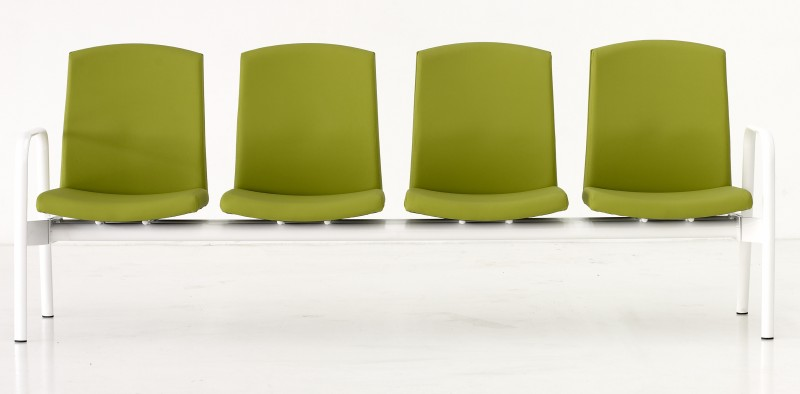 Silla de sala de espera serie 2 mobiliario oficina Granada imoc.es