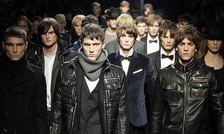 desfile en semana de la moda de Milán