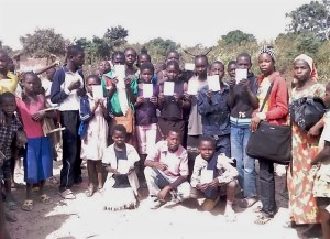 Promise books distributed in Central African Republic