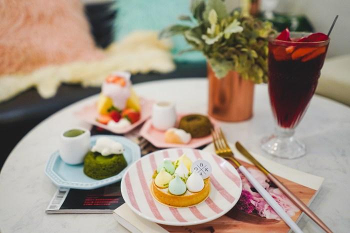 民生社區甜點|BOKA:人氣夢幻戚風蛋糕店,店裡每個角落都很少女很好拍@民生社區下午茶.客製化蛋糕.包場