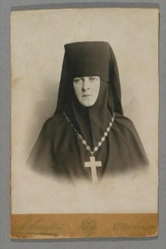 Игумения Ангелина, первая настоятельница обители