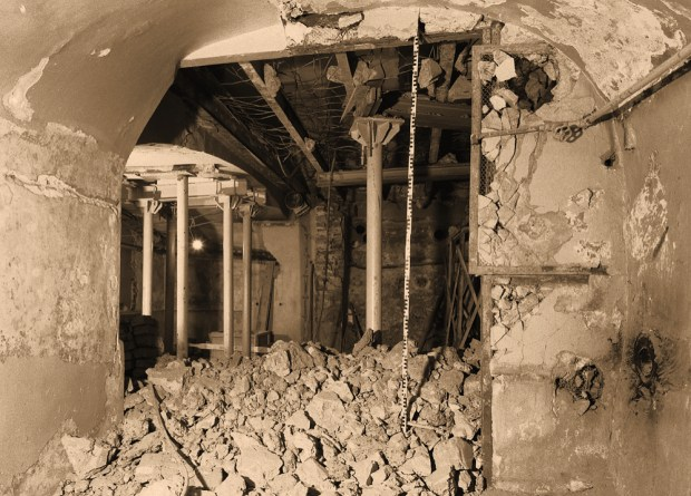 Восстановление храма усыпальницы 1989-1990