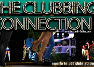 Ad for The Clubbing Connection