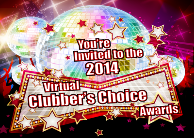 Virtual Clubbers Choice Awards Ad/Invitation