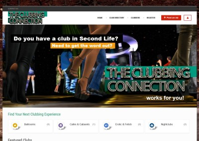 The Clubbing Connection Website